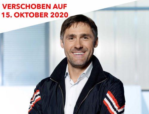Wolfgang Fasching verschoben auf 15. Oktober 2020