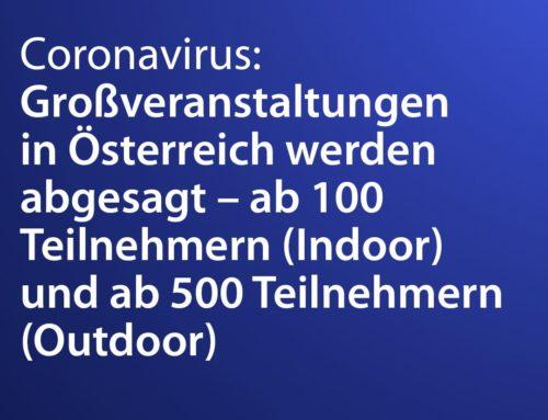 Aktuelles rund um den Coronavirus